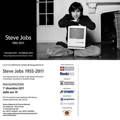 Mostra steve Jobs Torino