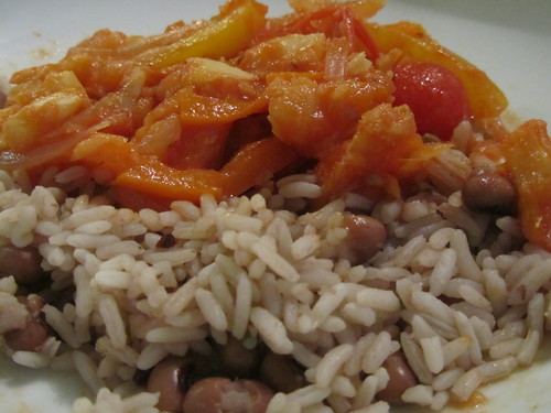 22.11.11 Saltfish and Rice and Peas .. Noice