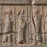 Persian and Median Soldier Reliefs - Persepolis, Iran