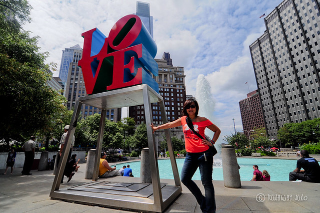 Philadelphia Pennsylvania Love Statue