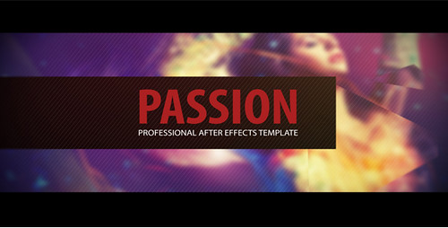 Passion: After Effects Template