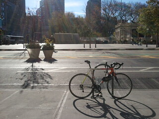 Great day to bike to the office.  #bikenyc