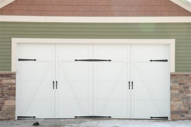 Carriage House Style Garage Door Flickr Photo Sharing