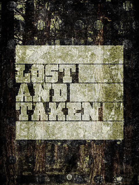 SAoS - Lost and Taken poster