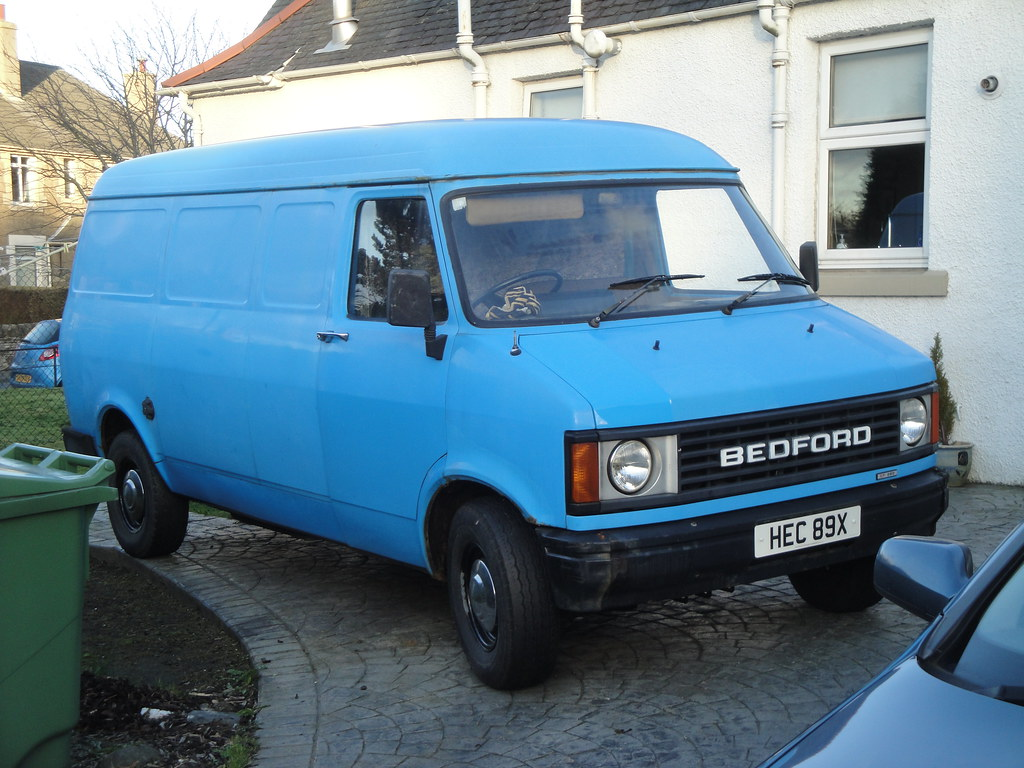 1981 Bedford CF - a photo on F...