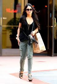 Vanessa Hudgens Cargo Jeans