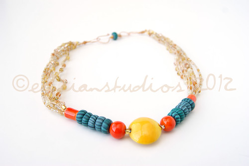 """Solar Power"" Necklace-Main"