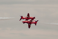RAF Red Arrows Lossiemouth Display 2011