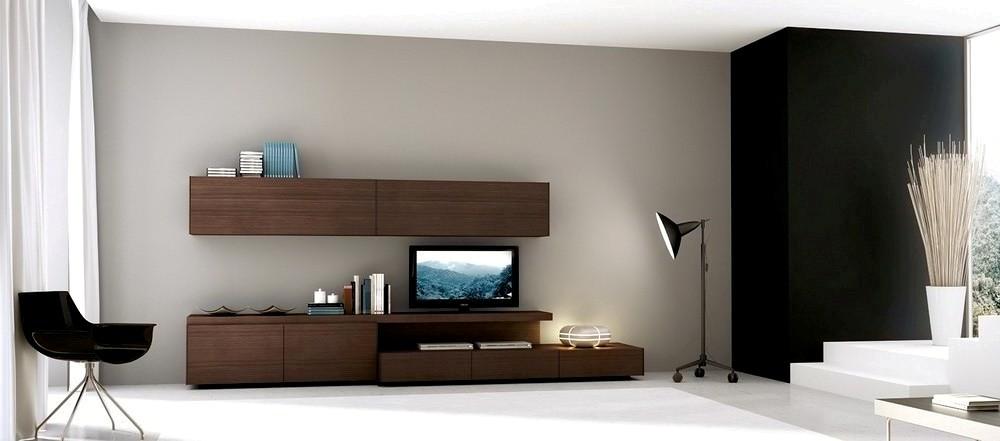 Mueble modular mesa rack living tv lcd progetto mobili for Muebles living moderno