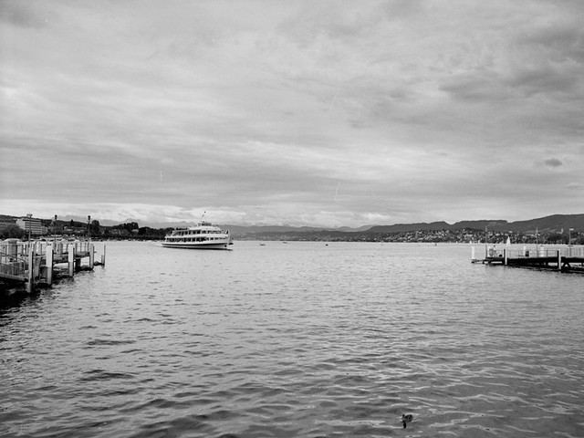 ship & lake