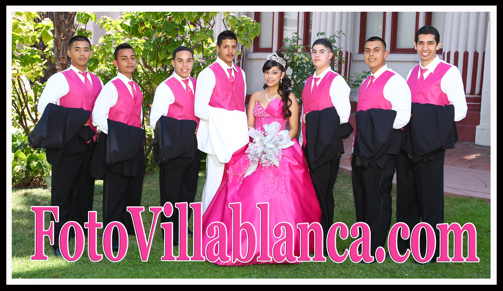 weddings sweet sixteens california photographerQuinceanera Chambelanes Outfits Pink
