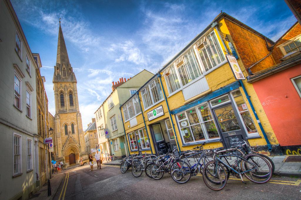 "Entry for ""Best Bike Shop"" in Oxford's Worldwide Photo Walk Competition - Bike Zone Bike Shop Oxford"