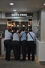 Els xinos es tornen bojos amb els Duty Free