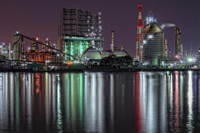 Mizushima industrial complex