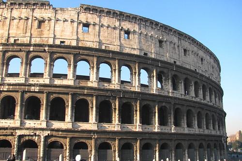 Las arcadas del Coliseo
