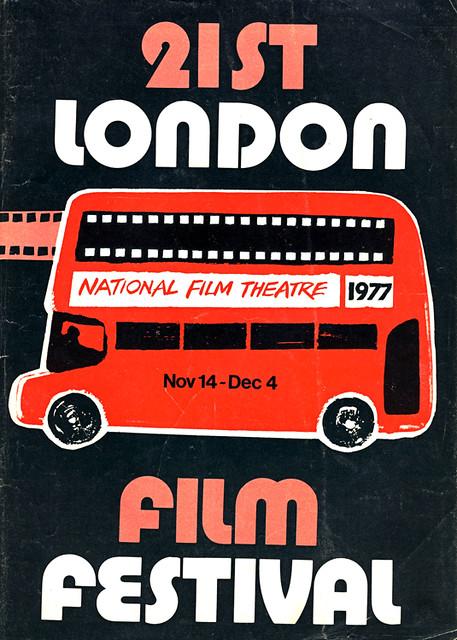 1977 London Film Festival poster