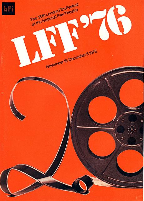 1976 London Film Festival poster