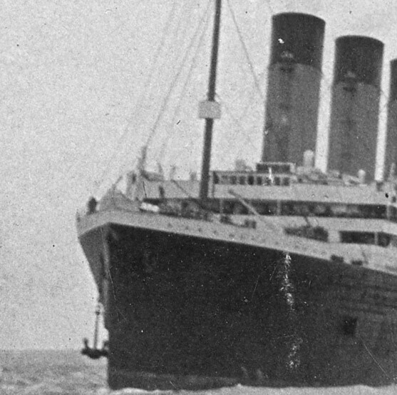 Rms Olympic: Detail From Image 1: RMS Olympic