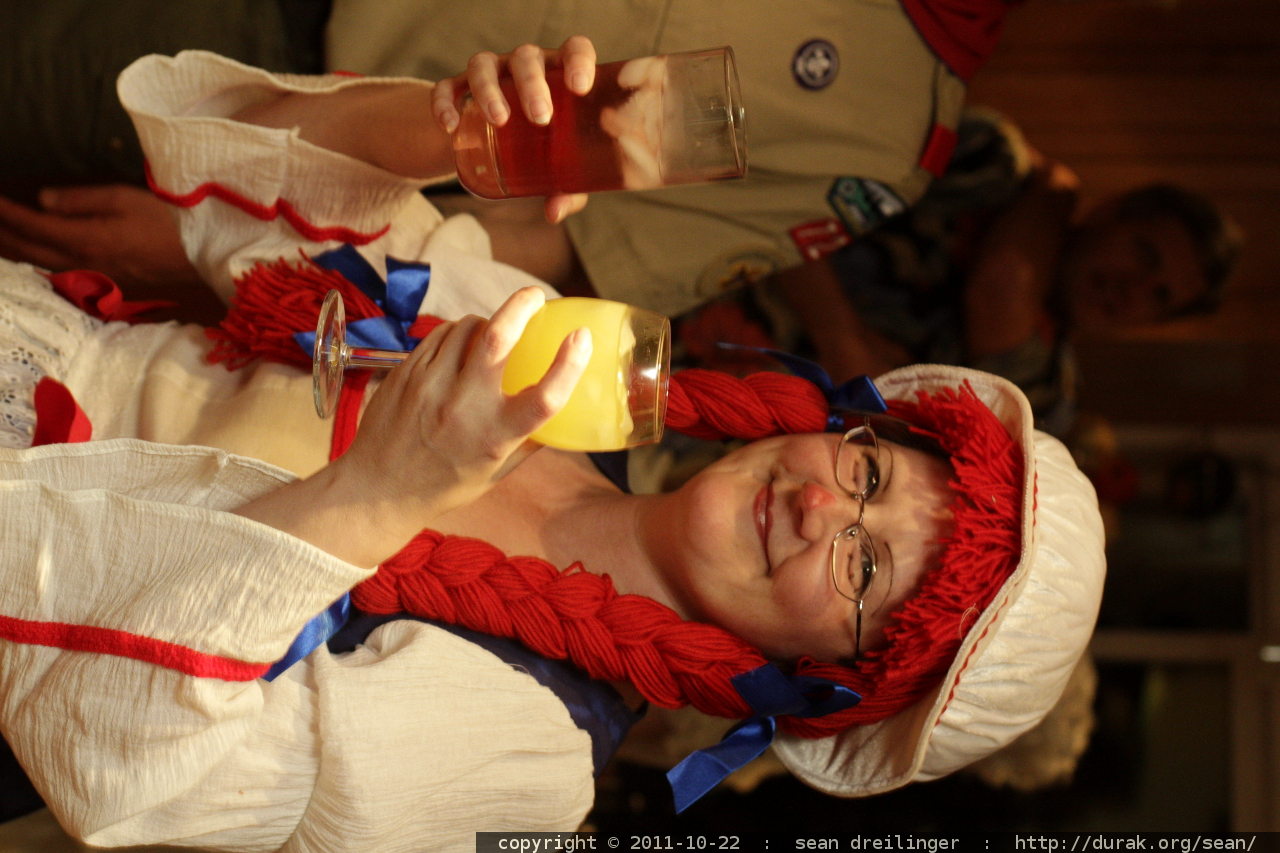 photo: raggedy anne's double fisted drinking technique MG ...