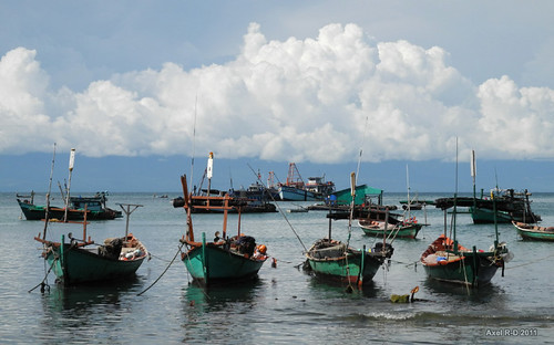 Ganh Dau jarbor, Phu Quoc Island