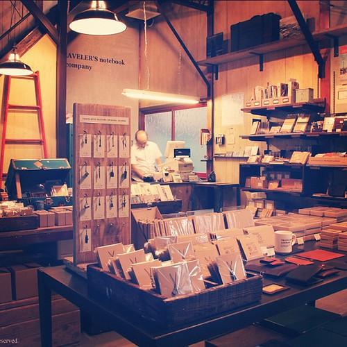 Traveler's Factory store in Meguro, Tokyo