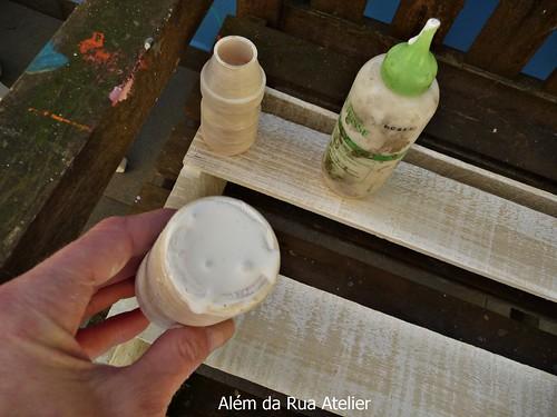 Artesanato Feito Com Juta Passo A Passo ~ Como fazer pátina e reciclagem de caixote, com passo a passo e vídeo !!! u2013 Além da Rua Atelier