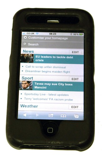 Optimising sites for mobile viewing is increasingly important