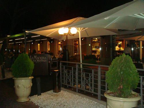 La maquina de la moraleja madrid rincones secretos for Restaurantes con terraza madrid