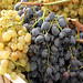 grapes at market in Milan