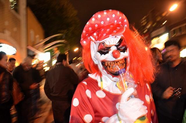Halloween street party, Toronto Gay Village, 2011