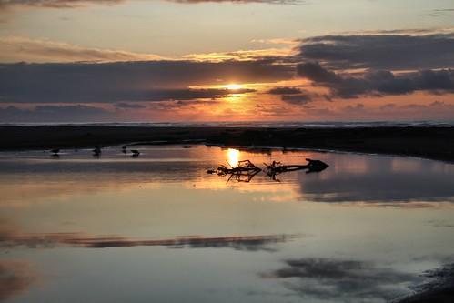 ocean sunset beach water sand 365