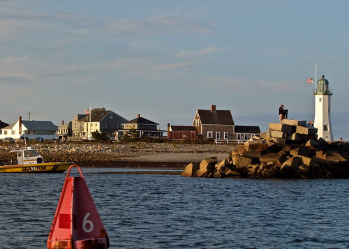 Old Scituate Light House by The Bop