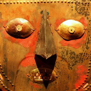 Inca Gold mask details...