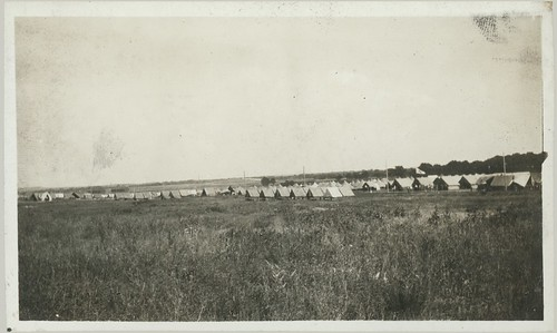 WW1 Camp