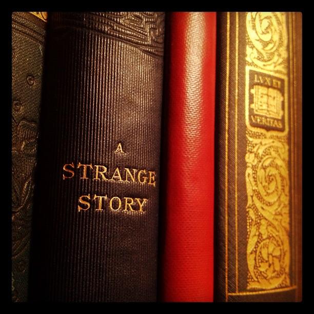 Header of A Strange Story