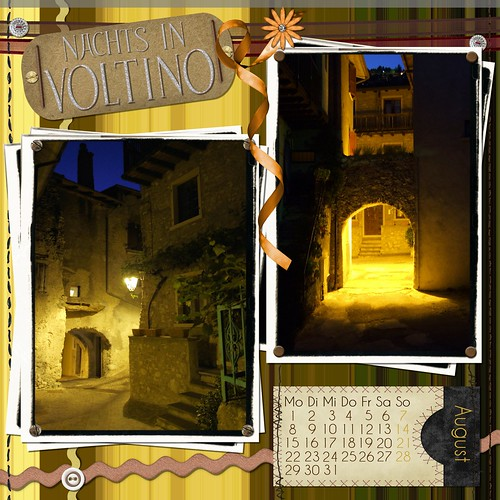 "Kalenderblatt ""Nachts in Voltino"""