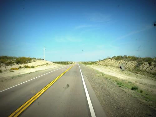 camino a Valcheta...