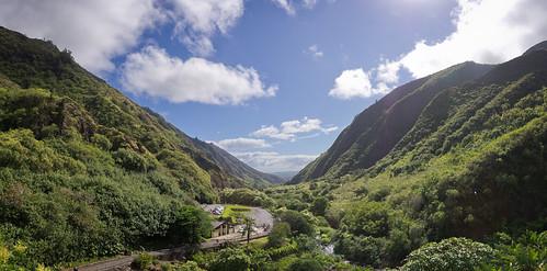 Iao Valley, Maui, Hawai'i (panorama)