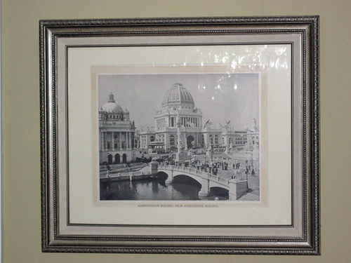 Columbian Exposition, Administration Building print