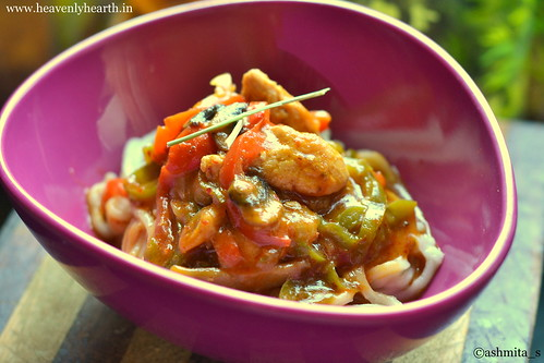 Thai Red Chicken Curry Noodles