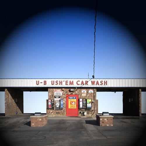 Gerard Wilson, U B Ush'em Car Wash, 2007