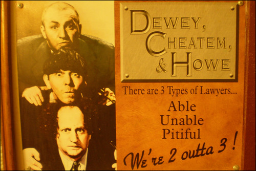 Dewey, Cheatem and Howe