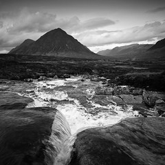 glencoe from the cauldron