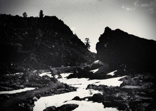 1990, Craters of the Moon, Idaho by Juli Kearns (Idyllopus)