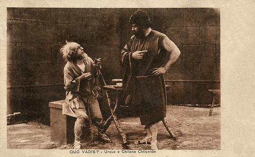 Bruto Castellani and Augusto Mastripietri in Quo vadis? (1913)