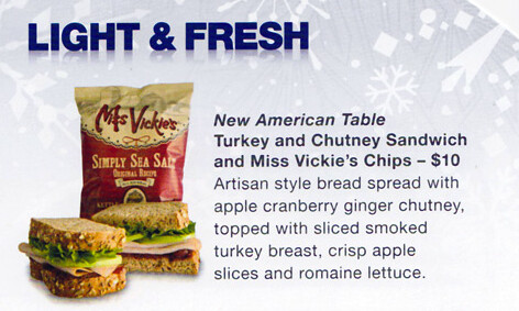 Gone: Chutney Turkey Sandwich