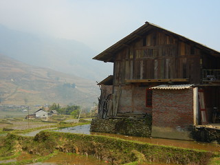 Sapa  Muong Hoa Valley barn