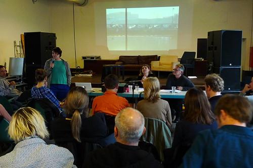 Panel auf dem Kongress Wem gehört die Stadt März 2012