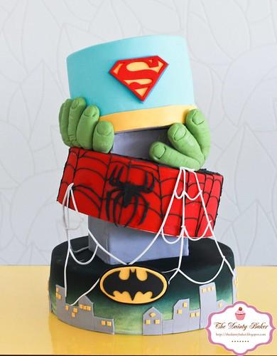 Superohero Cake-2
