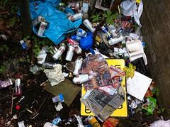 scrap, litter, waste,
